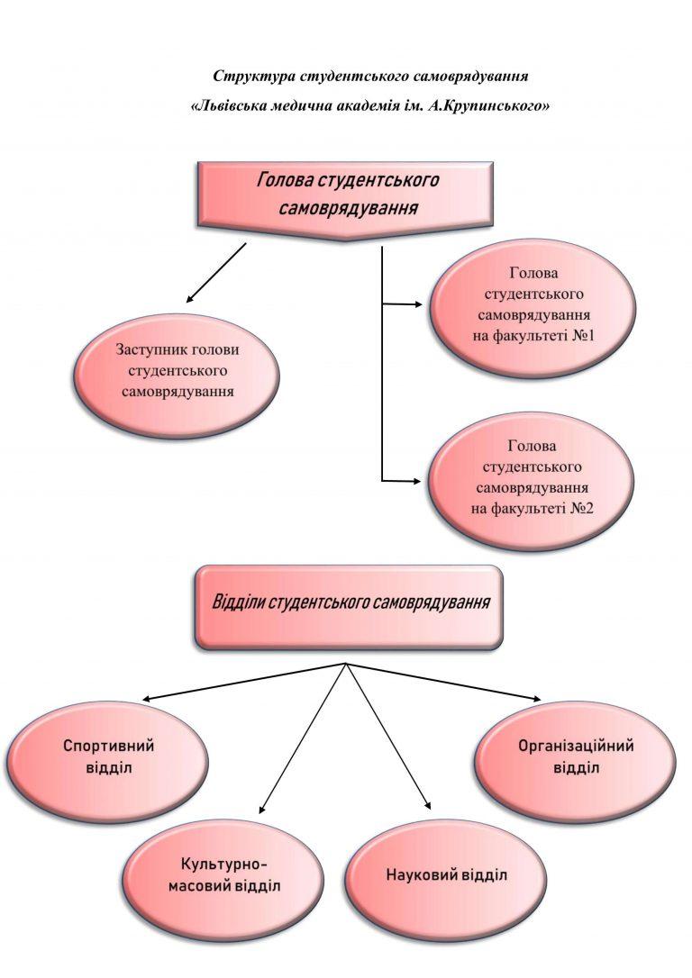 структура студентського самоврядування