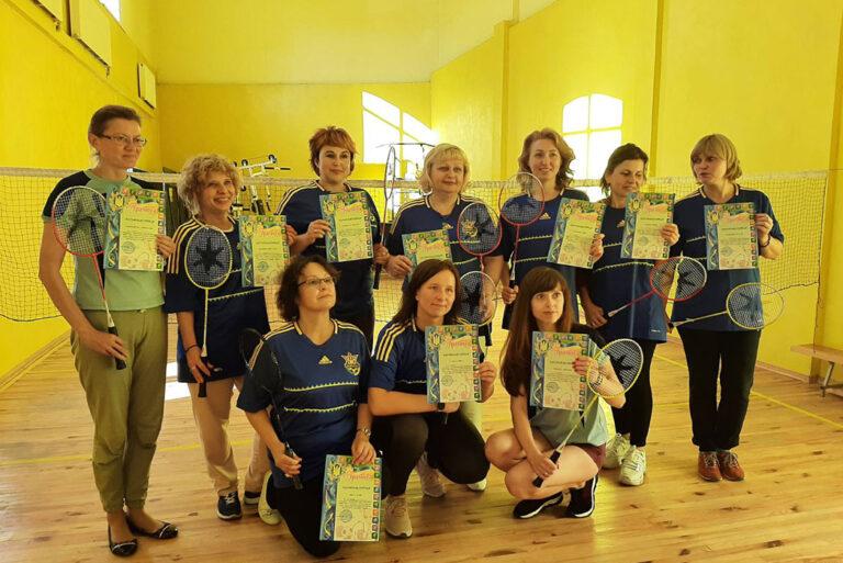 Змагання з бадмінтону серед працівників Львівської медичної академії